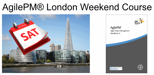agilepm london weekend