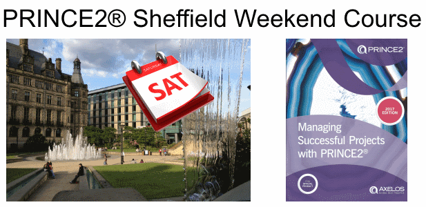 PRINCE2 Weekend Sheffield Course
