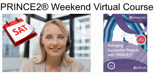 PRINCE2 Weekend Virtual Online Course