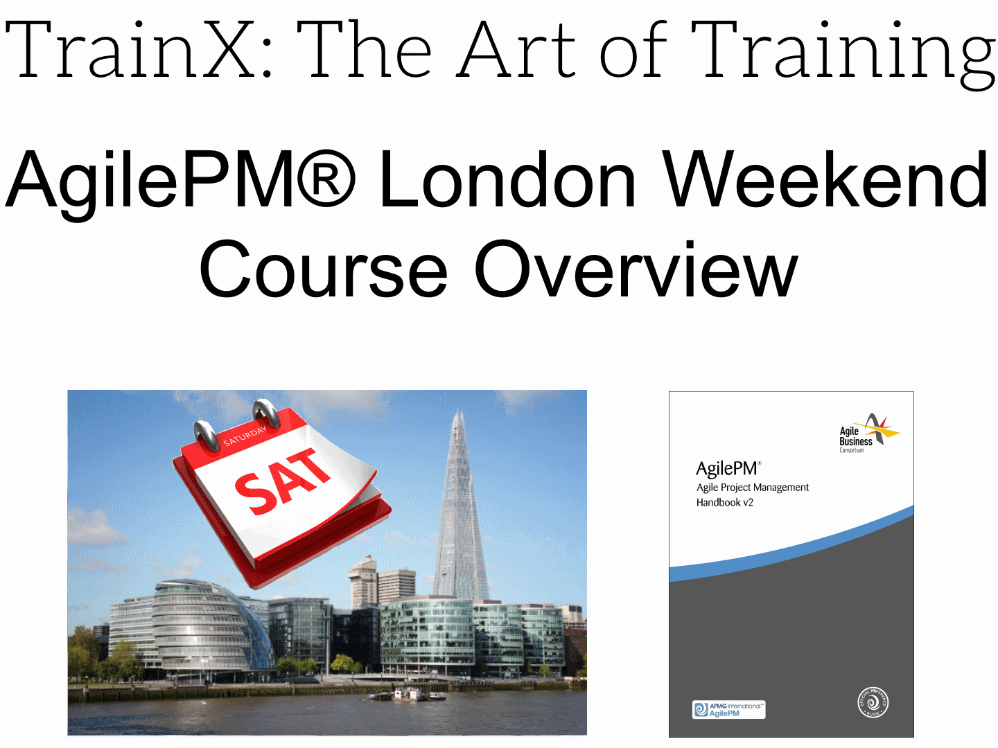 Agilepm London Weekend Course Agilepm Weekend London Training